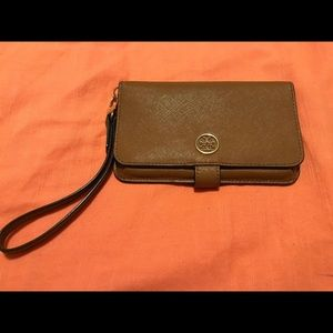 Tory Burch wristlet- wallet- cell phone holder